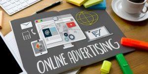 ONLINE ADVERTISING man working on laptop Online Advertising Website Marketing Update Trends Report News Online Advertising Online Marketing Business Content Strategy